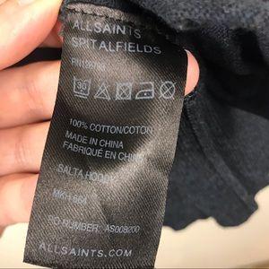 All Saints Sweaters - All Saints Mens Salta Hoody Sweater